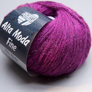 Lana Grossa Alta Moda Fine 017 berry 25g Wolle