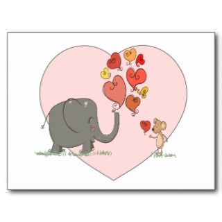 vector lindo del amor de la tarjeta del día de San Tarjetas Postales