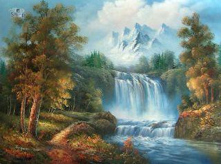 Gemälde  oil painting живопись маслом 46