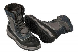 Ecco Roxton Stiefel schwarz blau Gore Tex Herren Warmfutter Boots NEU