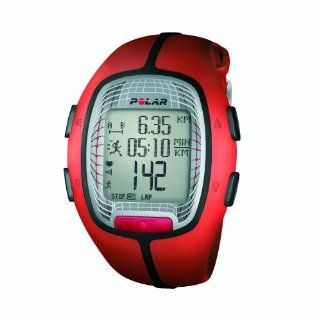 Polar RS300X SD Heart Rate Monitor Watch with S1 Foot Pod (Orange