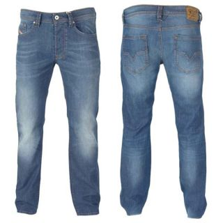 Herren Diesel Jeans Larkee Wash Y50 Regular Straight blau