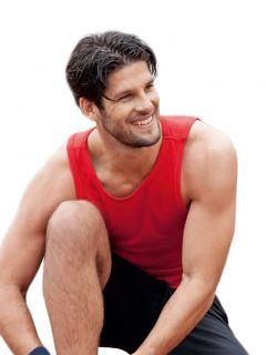atmungsaktives Muskel Shirt von HANES ° tank top men ° sport