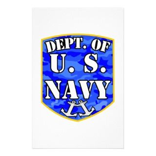 Department of the United States Navy Stationery