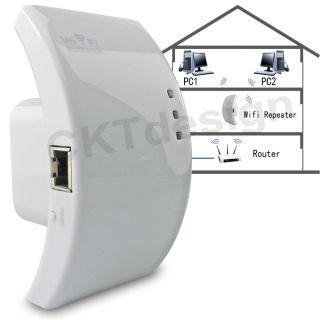 WIRELESS WLAN WiFI REPEATER VERSTARKER LAN ACCESS POINT 300 50 54 MBit