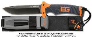 Gerber Bear Grylls Ultimate Survival Outdoor Messer B1 171512 NEU