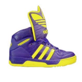 Adidas JS Logo Jeremy Scott Schuhe Leder NEU Schuhe