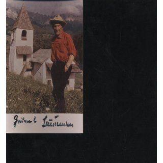 Foto Luis Trenker mit Unterschrift, Extrembergsteiger, Bergführer