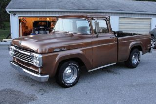1958 Ford F100 Pick Up   Hot Rod   Rat Rod Truck   302 Ford V8, C4