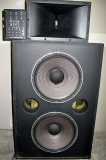 JBL 4508A Speaker Cabinet JBL 2445H HF Driver JBL 2308A Horn JBL 3160