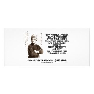 Swami Vivekananda Positive Strong Helpful Thoughts Personalized Rack