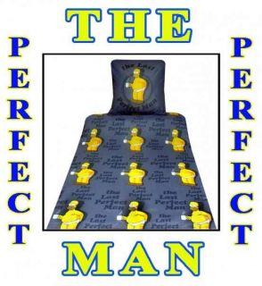 tlg. Simpsons Bettwäsche 135x200 cm The Perfect Man