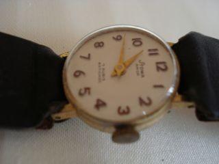Uhr   alte STOWA AMOR   7 Rubis Armbanduhr   schönes Ziffernblatt