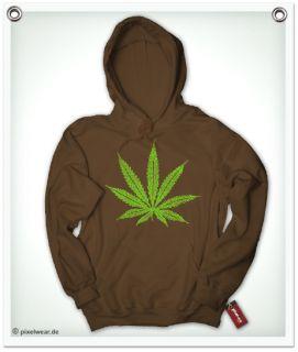 Weed Cannabis THC Hanf Drugs Hoodie Kiffer T Shirt
