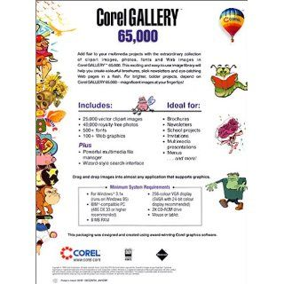 65.000 Corel Gallery Software