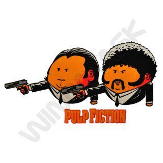 Pulp Fiction John Travolta Comic Figuren Spaß Fun Shirt