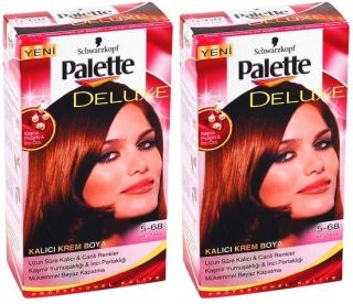 PALETTE DELUXE PERMANENT HAIR COLOUR MEDIUM CHESTNUT 5 68