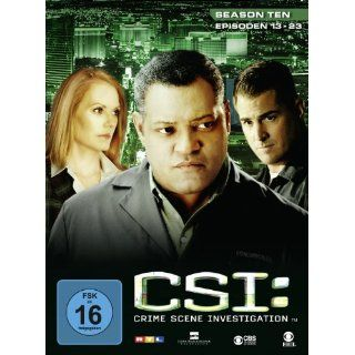 CSI Crime Scene Investigation   Season 10.2 [3 DVDs]