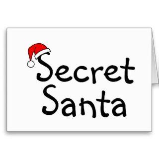 Secret Santa 2 Greeting Cards