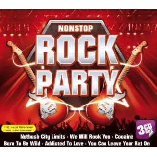 Nonstop Rock Party   3er CD Box (inkl. We will Rock you, Born to be