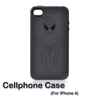Spiderman iPhone Case soft rubber iPhone4 4S c@@l personalized