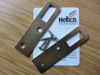 Schrankaufhänger, Metall verzinkt, 75 mm hoch, 01505