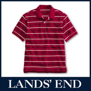 LANDS END Herren Piqué Poloshirt Shirt Polo *Sale*