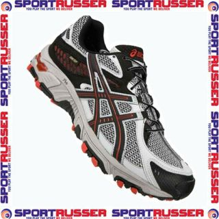 Asics Gel Trabuco 13 G TX black/silver/red