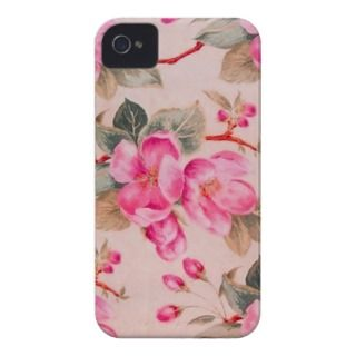 Girly keep calmVintage pink floral roses iPhone 5 Cover