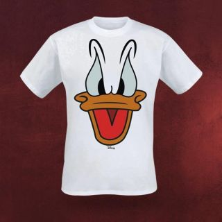 Donald Duck T Shirt Retro Sprechende Ente Fun Comic Held Kinder