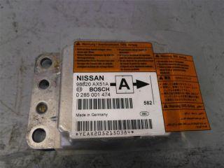 Nissan Micra K12 Steuergerät Airbag Bosch 0285001474