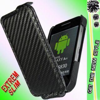 Samsung S5830 ACE Galaxy/Etui/Flip/Tasche/für/Schutz/Case/Hülle/Akku