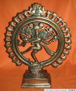 Göttin Shiva Skulptur Hinduismus Indien Asiatika 38 cm Figur mit