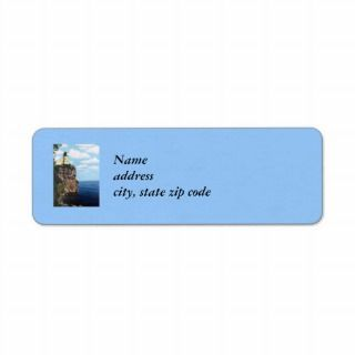 Split Rock Lighthouse Return Address Label