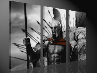 300 130x80cm LEONIDAS FILM BILDER DVD DESIGN LEINWAND KUNST BILD ART
