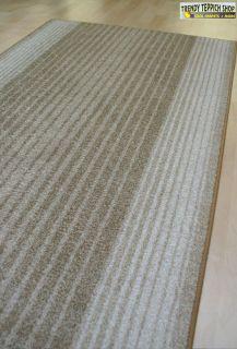 Teppich Läufer Velours Capitol Farbe 33 beige Br. 80 cm