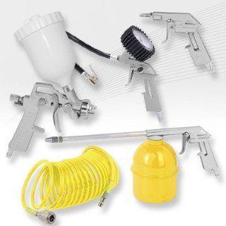 XXL Zubehör Set für Druckluftkompressoren, Lackerpistole