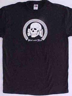 New BLOOD & HONOR T SHIRT XXL Totenkopf SKULL Deathshead BLUT UND EHRE