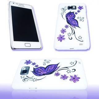 Handy Tasche Hard Case Cover JG Design f. Samsung I9100 Galaxy S2