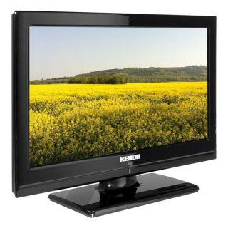 KENDO LED 16HD120 USB schwarz 16 Zoll (40cm) LCD TV mit 12 /220 Volt