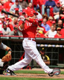 Joey Votto 2011 Action Photo