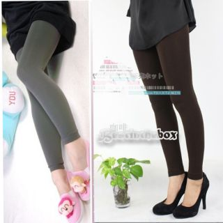 Pick Women Winter Slim Leggings Stretch Pants Thick Footless Tight Top