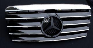 Mercedes Grill Kühlergrill W124 Schwarz CL  93