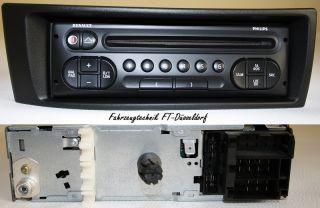 RENAULT MEGANE / SCENIC / CD RADIO SPIELER CD RADIO STEREO AUTORADIO