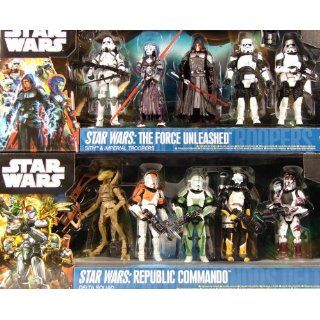 Sparset Star Wars Republic Commando Delta Squad + The Force Unleashed