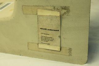 Vintage Olivetti Programma 101 Calculator/Desktop Computer Top Cover