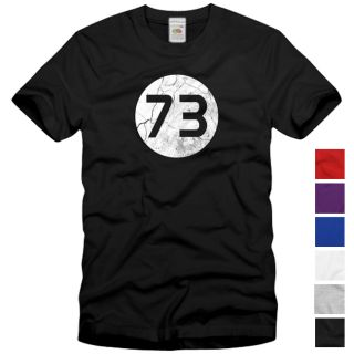 73 The Big Bang Vintage Theory T Shirt Sheldon Lieblings Zahl Cooper