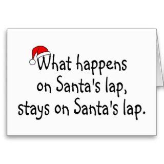 Greeting Cards, Note Cards and Naughty Santa Greeting Card Templates
