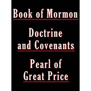 LDS (Mormon Churchs) Sacred Texts   / The Book of Mormon / The
