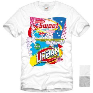 Urban Art T Shirt Street Wear Herren Motiv Shirt Designer tee S M L XL